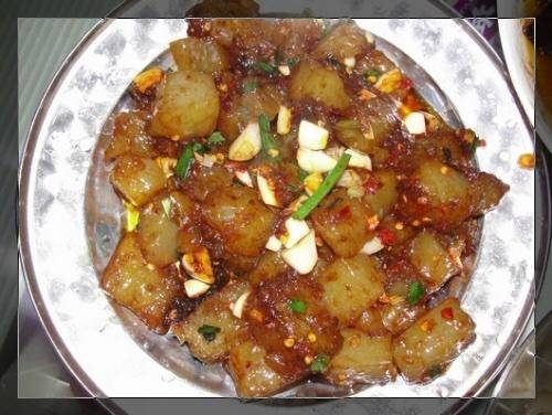 Home Cooking Recipe: Fried jelly