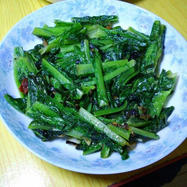Home Cooking Recipe: Fried lettuce leaves