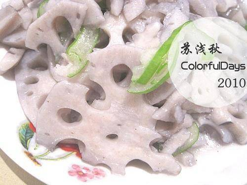 Home Cooking Recipe: Fried lotus root