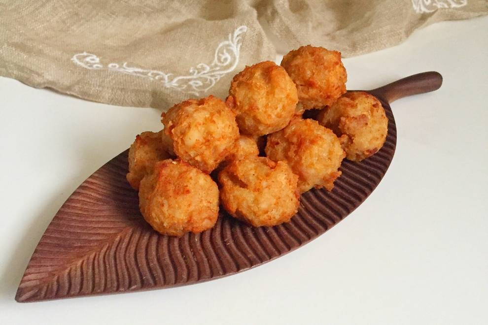 Home Cooking Recipe: Fried lotus root pork balls - annual flavor