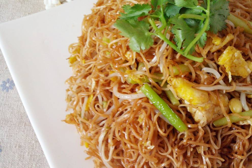 Home Cooking Recipe: Fried noodles (homemade)