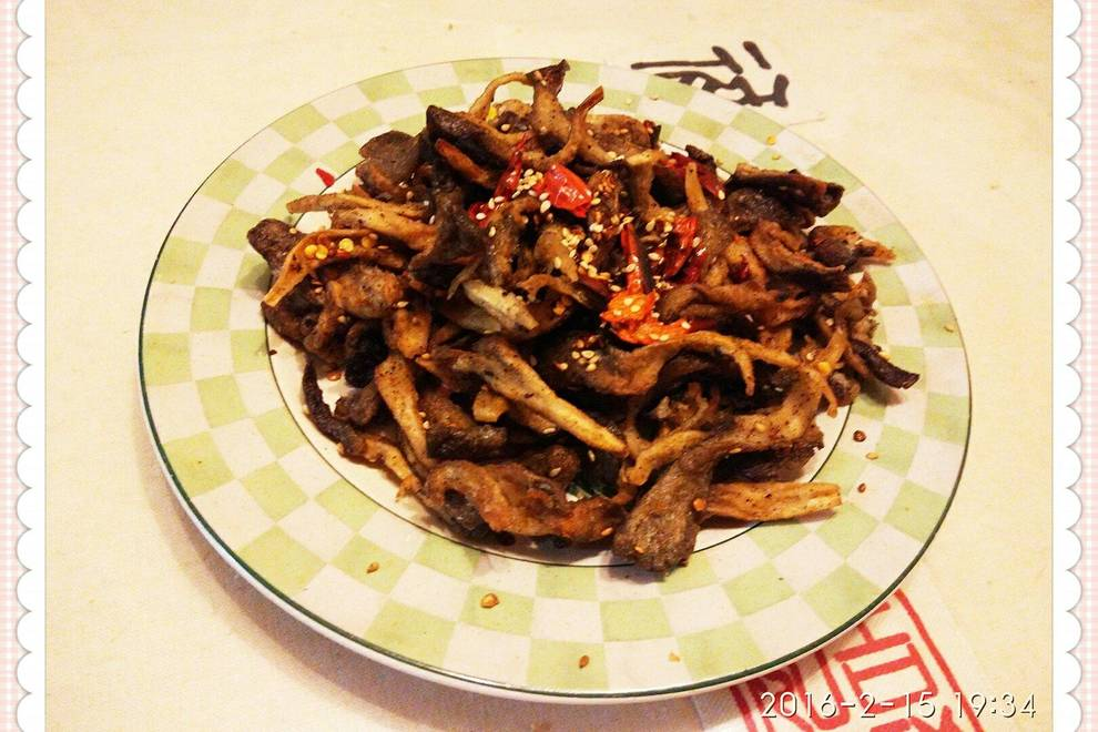 Home Cooking Recipe: Fried oyster mushroom