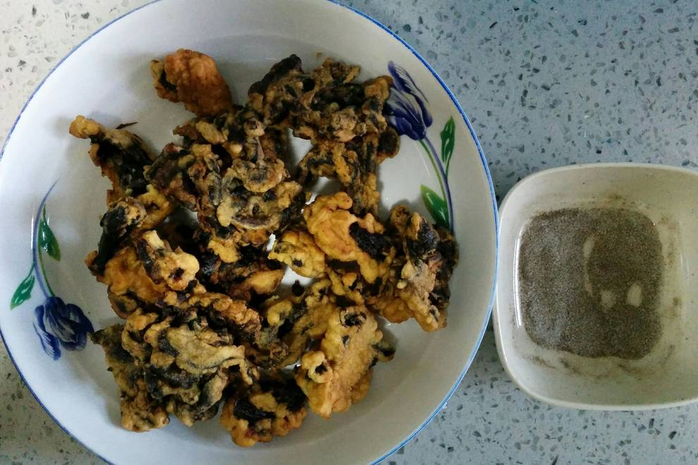 Home Cooking Recipe: Fried oyster mushrooms