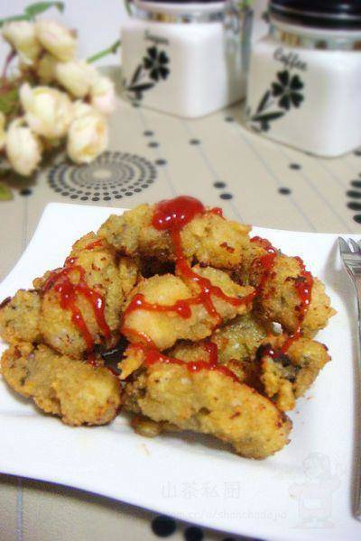 Home Cooking Recipe: Fried oysters