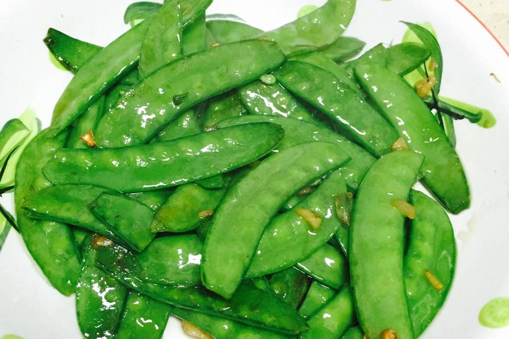 Home Cooking Recipe: Fried peas