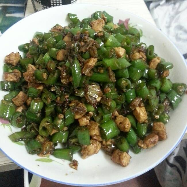 Home Cooking Recipe: Fried pepper