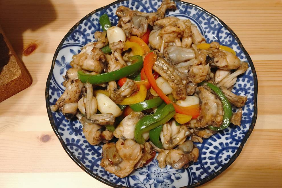 Home Cooking Recipe: Fried pepper chicken