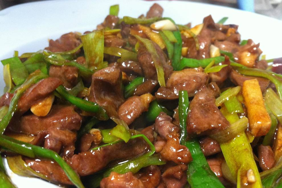 Home Cooking Recipe: Fried pork heart