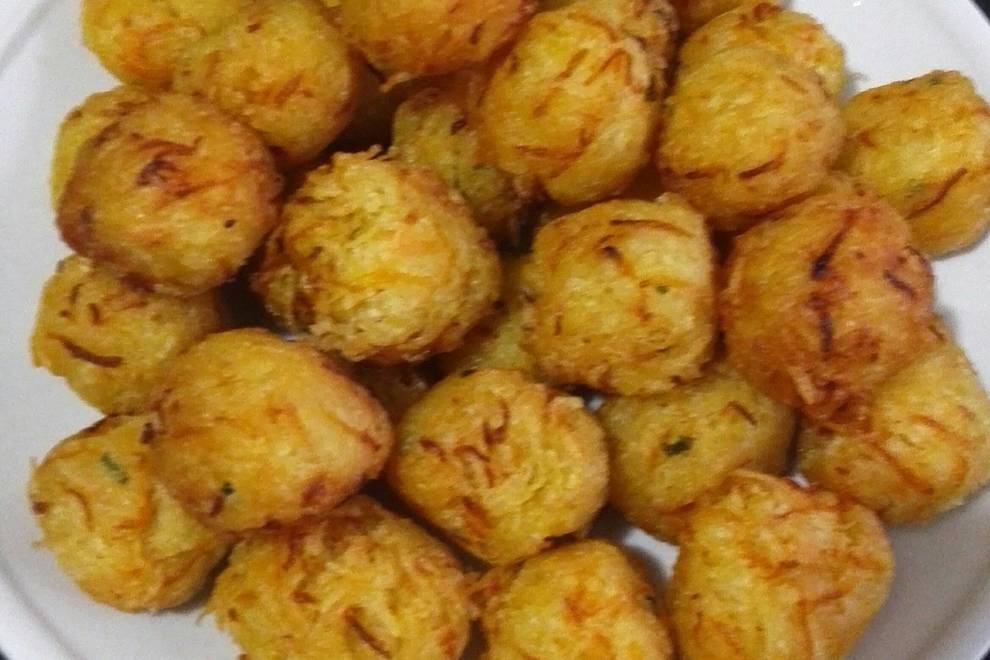 Home Cooking Recipe: Fried potato balls