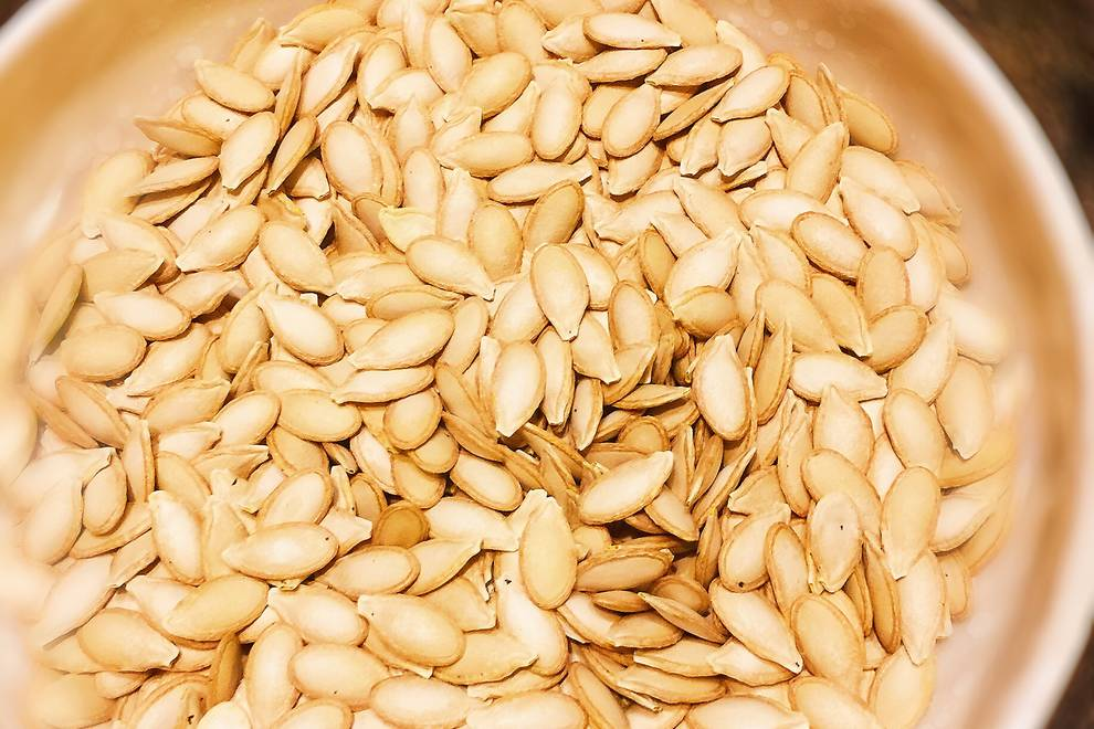 Home Cooking Recipe: Fried pumpkin seeds