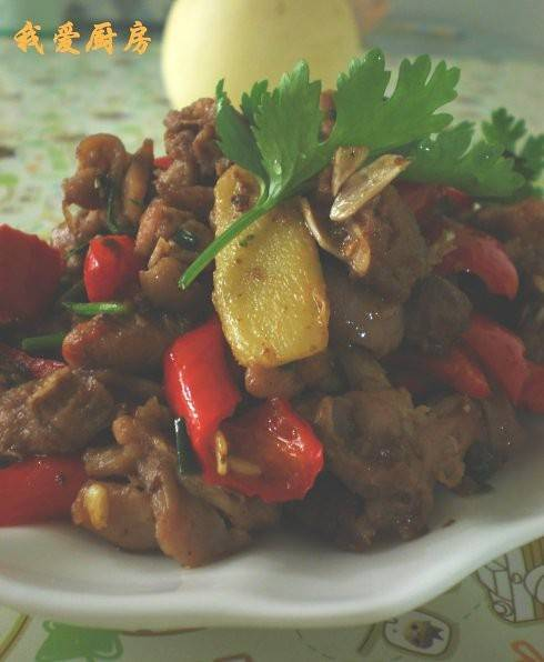 Home Cooking Recipe: Fried rabbit meat