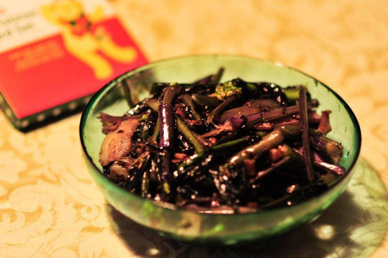 Home Cooking Recipe: Fried red cabbage