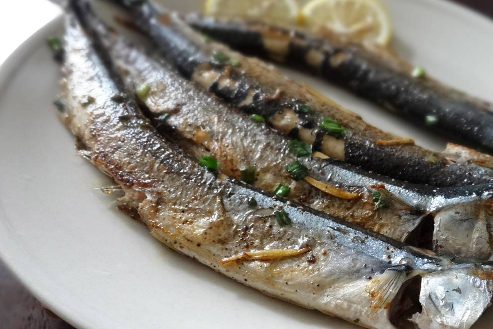 Home Cooking Recipe: Fried saury