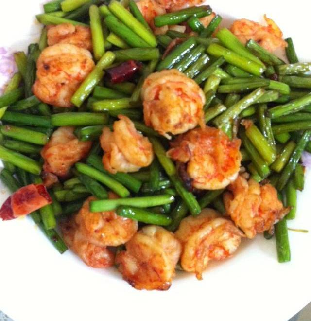 Home Cooking Recipe: Fried shrimp with garlic