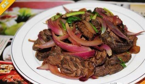 Home Cooking Recipe: Fried sirloin with onion