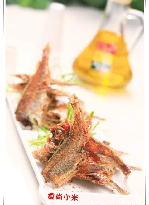 Home Cooking Recipe: Fried small yellow croaker