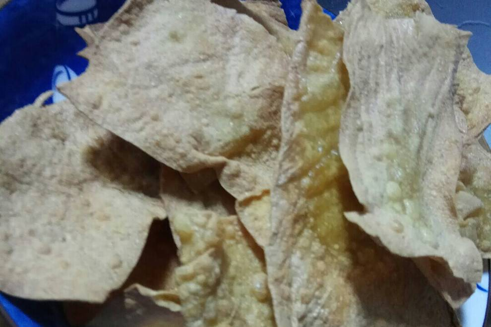 Home Cooking Recipe: Fried soybean oil skin