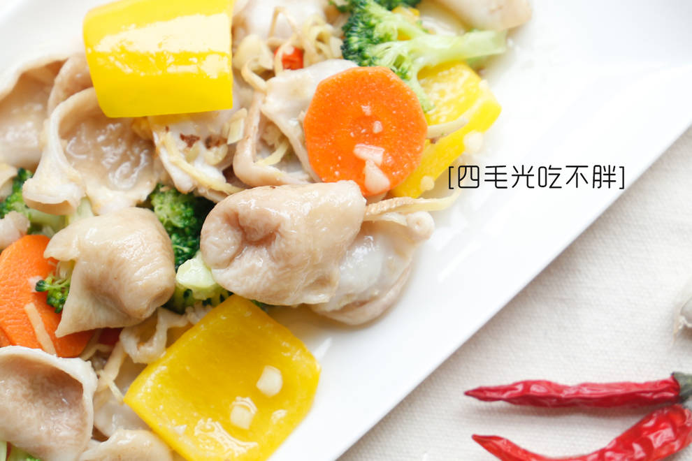 Home Cooking Recipe: Fried squid belly