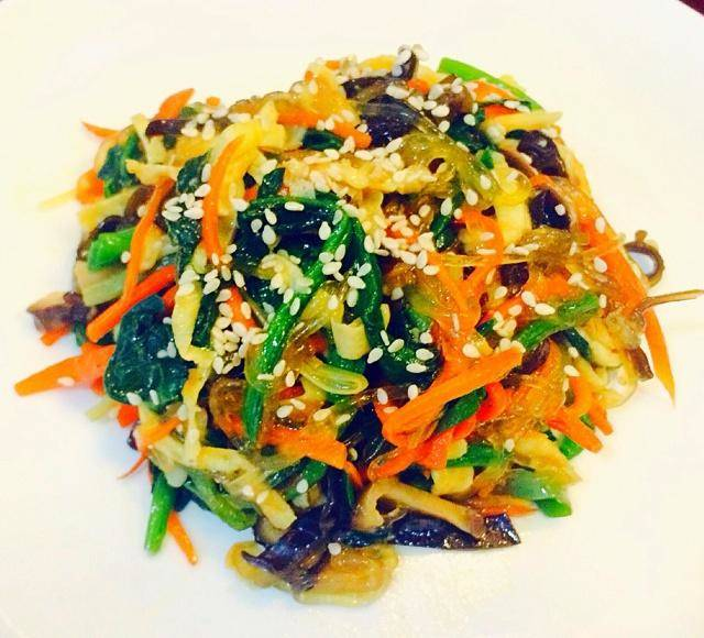 Home Cooking Recipe: Fried vegetables (South Korea)