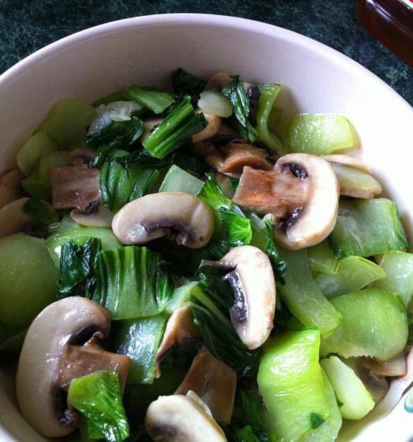 Home Cooking Recipe: Fried vegetables with greens