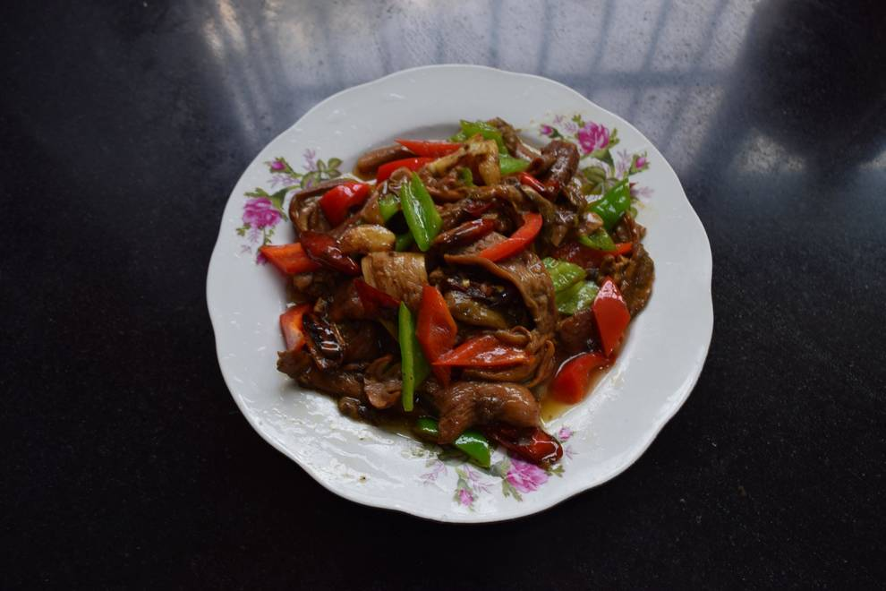 Home Cooking Recipe: Fried wild boletus