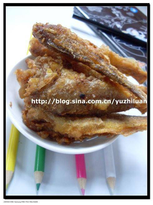 Home Cooking Recipe: Fried yellow croaker