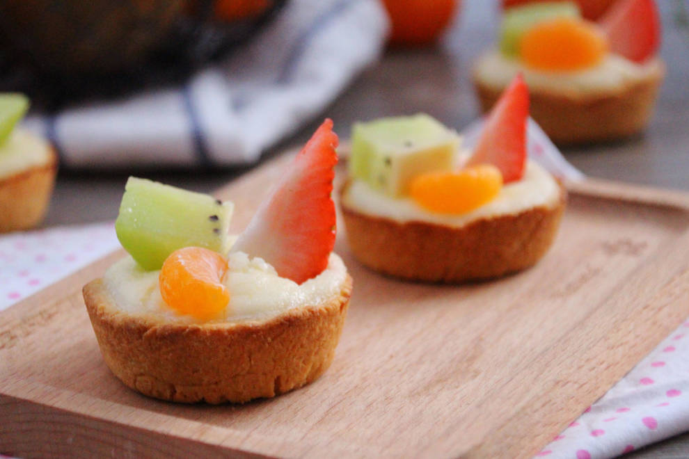 Home Cooking Recipe: Fruit cheese tart