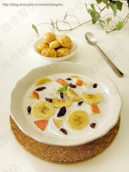 Home Cooking Recipe: Fruit oatmeal