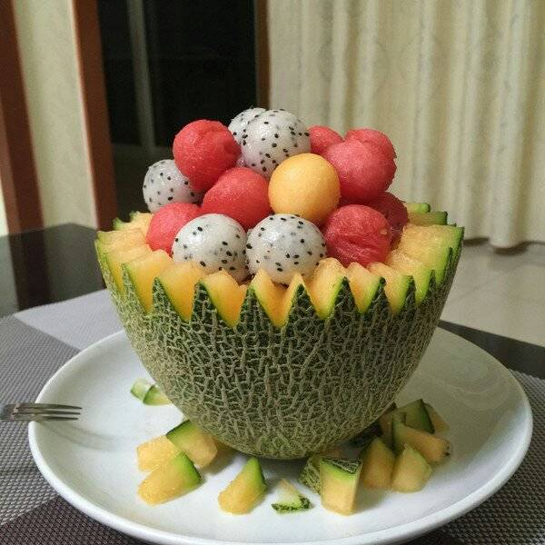 Home Cooking Recipe: Fruit platter
