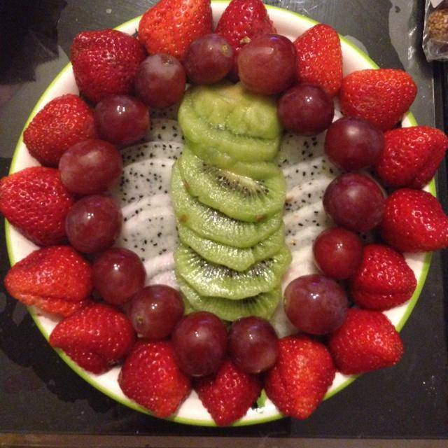 Home Cooking Recipe: Fruit platter is full of love