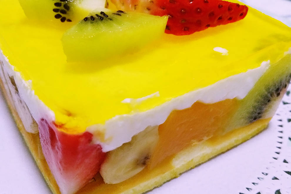 Home Cooking Recipe: Fruit yogurt mousse