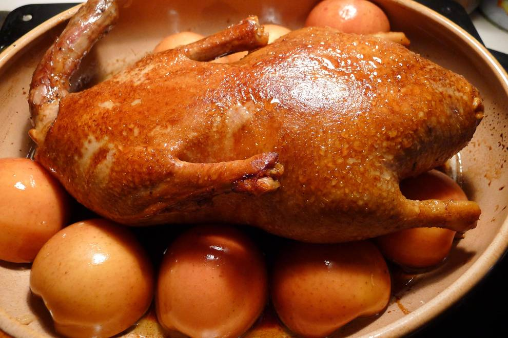Home Cooking Recipe: Fruity Eight Treasure Duck
