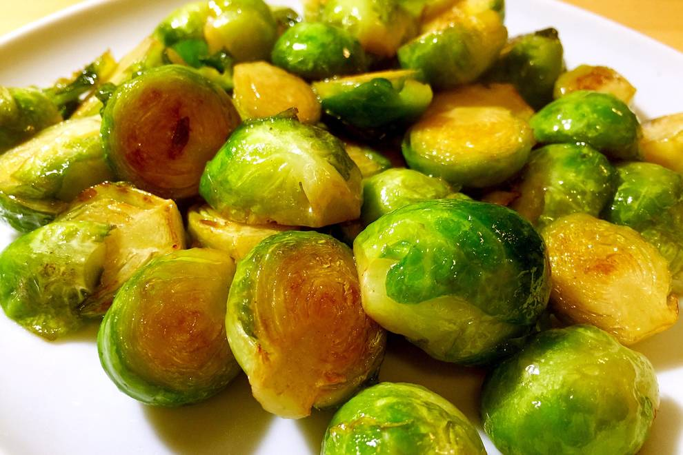Home Cooking Recipe: Fuel consumption brussels sprouts