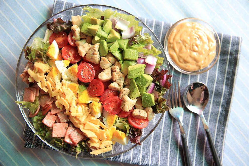 Home Cooking Recipe: Fully nutritious [Cobb Salad]