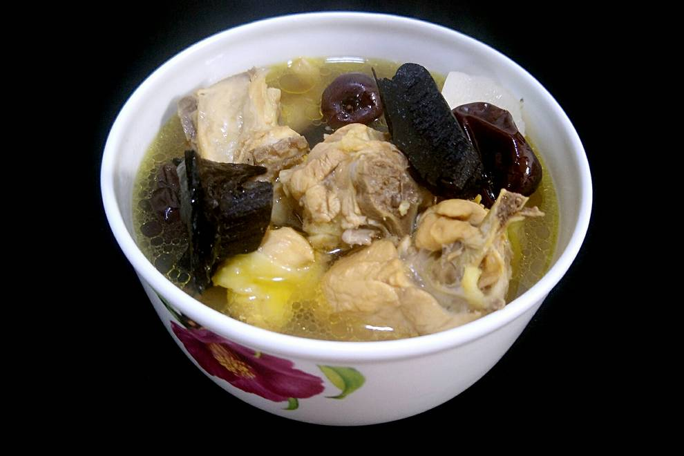 Home Cooking Recipe: Ganoderma lucidum chicken soup