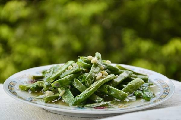 Home Cooking Recipe: Garlic bean