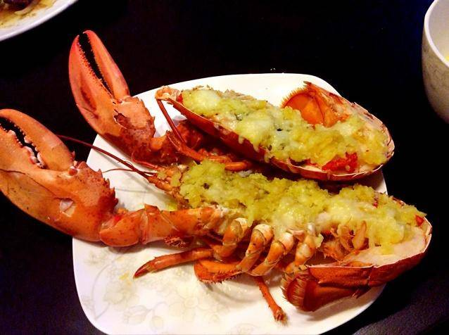 Home Cooking Recipe: Garlic Cheese, Boston Lobster