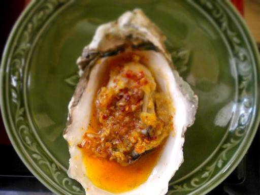 Home Cooking Recipe: Garlic grilled oysters