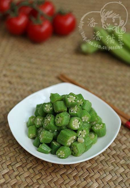Home Cooking Recipe: Garlic okra