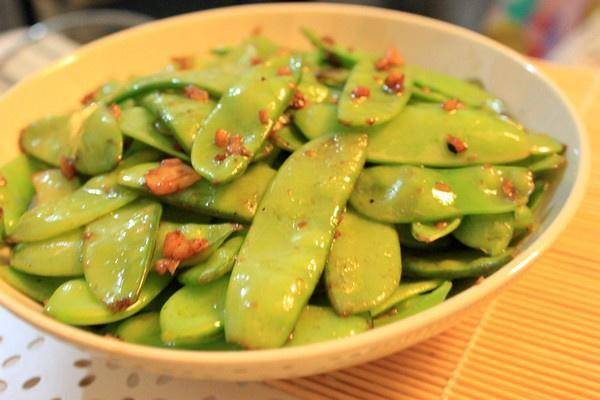 Home Cooking Recipe: Garlic peas