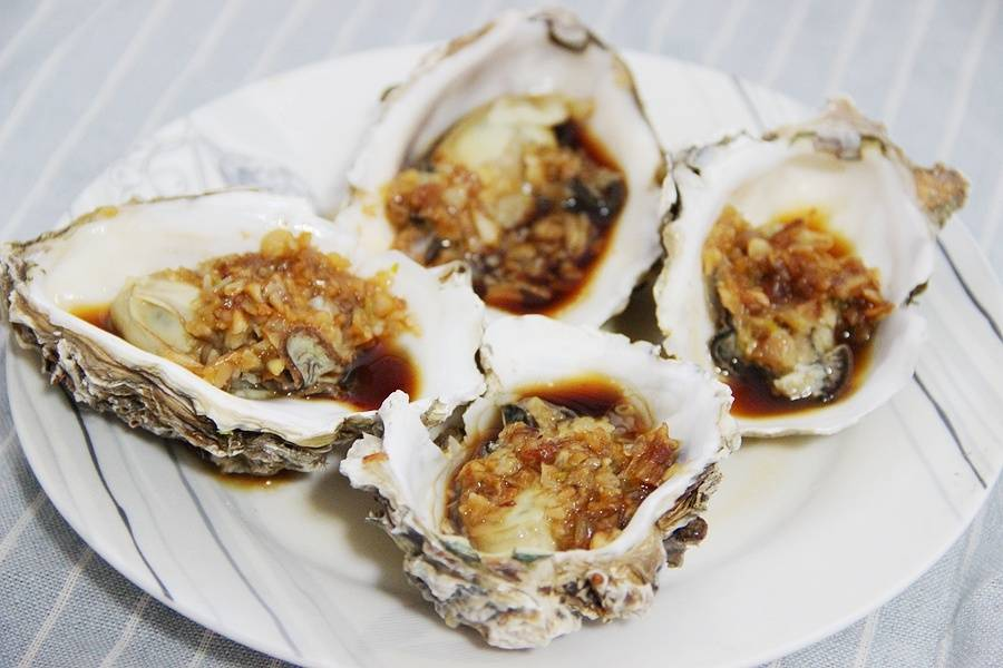 Home Cooking Recipe: Garlic steamed oysters