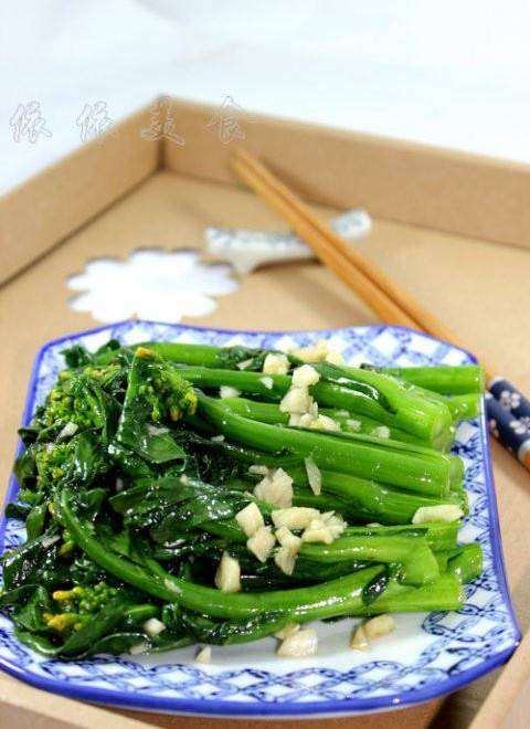 Home Cooking Recipe: Garlic stir-fried