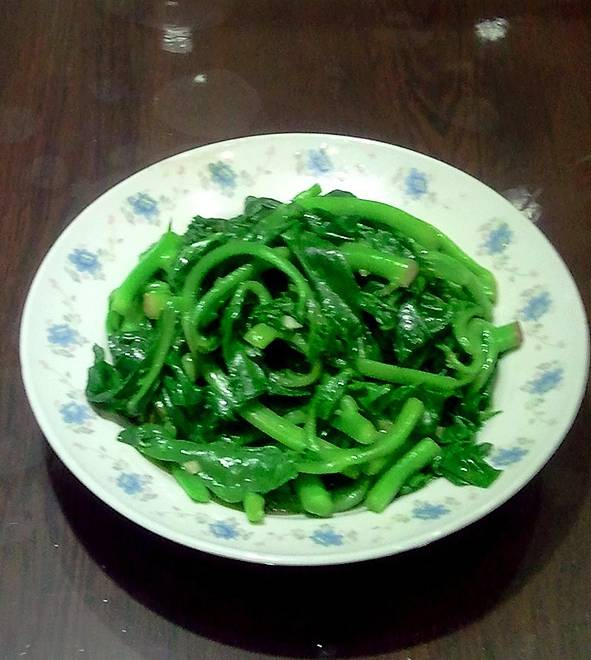 Home Cooking Recipe: Garlic stir-fried with chives