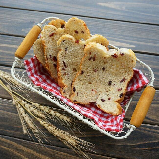 Home Cooking Recipe: Germ cranberry toast