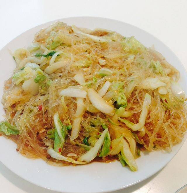 Home Cooking Recipe: Giant delicious cabbage fried fans