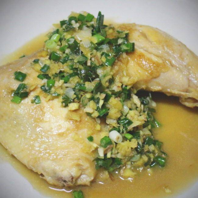 Home Cooking Recipe: Ginger onion, chicken thigh