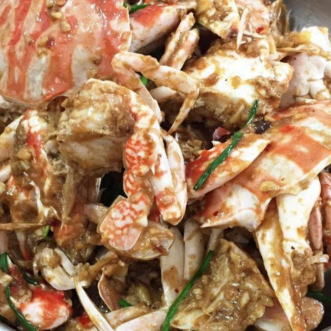 Home Cooking Recipe: Ginger, onion, garlic, stir-fried crab