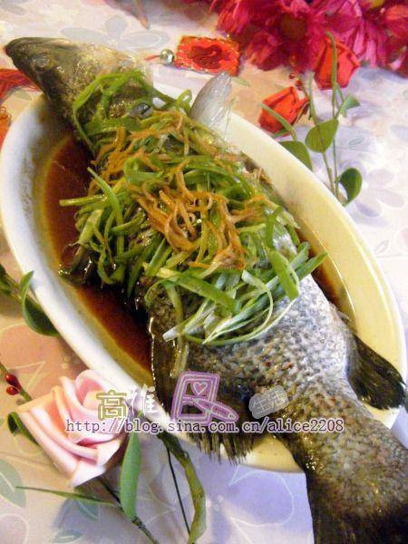 Home Cooking Recipe: Ginger onion steamed fish