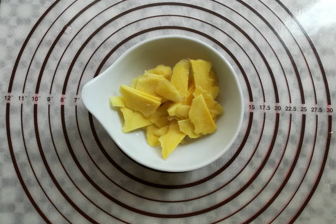 Home Cooking Recipe: Ginger peeled and sliced