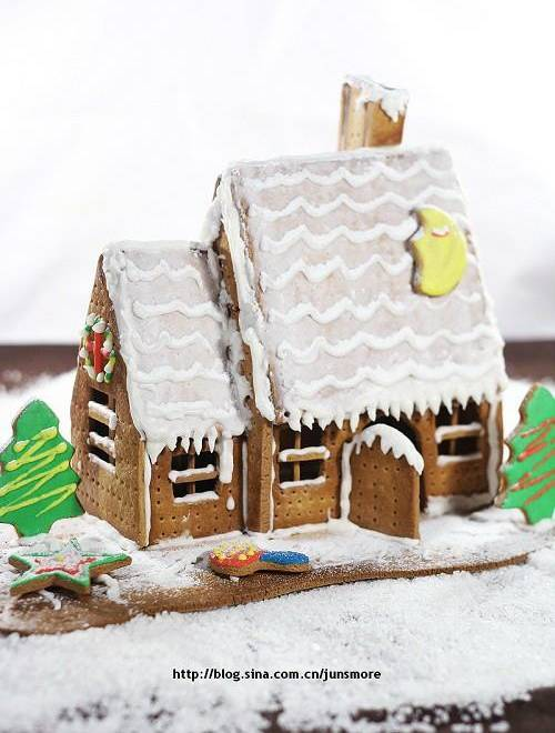 Home Cooking Recipe: Gingerbread house